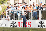 Paul Dunne of Ireland tees off the first hole during the 58th UBS Hong Kong Golf Open as part of the European Tour on 11 December 2016, at the Hong Kong Golf Club, Fanling, Hong Kong, China. Photo by Vivek Prakash / Power Sport Images