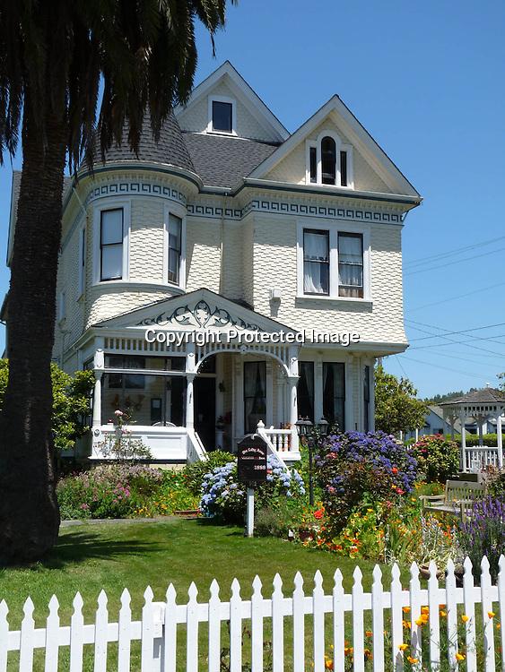 Victorian Houses Arcada Humboldt County California