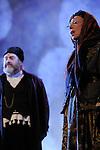 UN VIOLON SUR LE TOIT..Auteur : STEIN Joseph..Adaptateur : LAPORTE Stephane..Mise en scene : DESCHAUX Jeanne..Decor : TAPIERMAN Serge..Avec :..ABURBE Robert:LAZAR WOLF le boucher..Lieu : Le Palace..Ville : Paris..Le : 18 02 2010..© Laurent PAILLIER / photosdedanse.com..All rights reserved