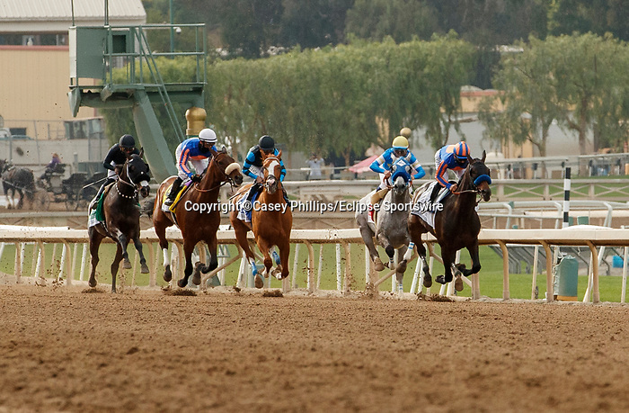ARCADIA, CA  APRIL 24:The start of the Santa Margarita Stakes (Grade ll) on April 24, 2021 at Santa Anita Park in Arcadia, CA. (Photo by Casey Phillips/ Eclipse Sportswire/ CSM)