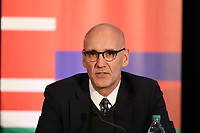 Toronto, Ontario - Saturday December 09, 2017: Executive Director of the United Bid Committee John Kristick. The United Bid for 2026 FIFA World Cup Presentation to Media was held at the Westin Harbour Castle - Harbour Ballroom.