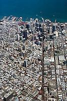 aerial photograph San Francisco financial district