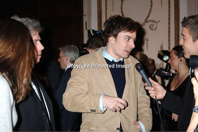Jimmy Fallon ..at The Entertainment Industry Foundation National Colorectal Cancer Research Alliance and The Jay Monahan Center for Gastrointestinal Health Hollywood Meets Motown Benefit on March 15, 2006 at The Waldorf Astoria Hotel. ..Robin Platzer, Twin Images
