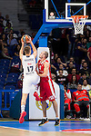 Real Madrid and Crvena Zvezda Telekom during Euroligue Basketball at Barclaycard Center in Madrid, October 22, 2015<br /> Debut of Radoncic.<br /> (ALTERPHOTOS/BorjaB.Hojas)