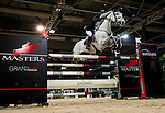 Michael Whitaker of United Kingdom riding Viking in action during the Longines Grand Prix as part of the Longines Hong Kong Masters on 15 February 2015, at the Asia World Expo, outskirts Hong Kong, China. Photo by Victor Fraile / Power Sport Images