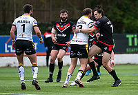Jordan Williams of London Broncos during the Betfred Challenge Cup match between London Broncos and York City Knights at The Rock, Rosslyn Park, London, England on 28 March 2021. Photo by Liam McAvoy.