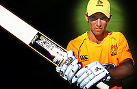 091207 Cricket - Grant Elliott Buzzbats Shoot