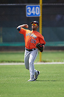 Houston Astros Alejandro Garcia (26) during practice before a minor league Spring Training game against the Detroit Tigers on March 30, 2016 at Tigertown in Lakeland, Florida.  (Mike Janes/Four Seam Images)