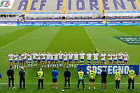 Itely team line uo during the rugby Autumn Nations Cup's match between Italy and Scotland at Stadio Artemio Franchi on November 14, 2020 in Florence, Italy. Photo Andrea Staccioli / Insidefoto
