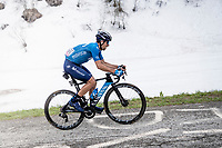 Nelson Oliveira (POR/Movistar) up the final part of the Monte Zoncolan <br /> <br /> 104th Giro d'Italia 2021 (2.UWT)<br /> Stage 14 from Cittadella›Monte Zoncolan (205km)<br /> <br /> ©kramon
