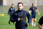 St Johnston Training….28.09.18<br />Drey Wright pictured during training this morning at McDiarmid Park ahead of tomorrow's game at Hearts<br />Picture by Graeme Hart.<br />Copyright Perthshire Picture Agency<br />Tel: 01738 623350  Mobile: 07990 594431