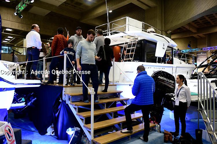 Salon du bateau 2019<br /> <br /> PHOTO :  Agence Quebec Presse