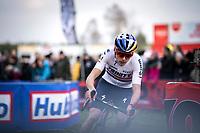 Tom Pidcock (GBR/Trinity Racing)<br /> <br /> Men Elite Race<br /> UCI Cyclocross Worldcup – Hoogerheide (Netherlands)<br /> <br /> ©kramon