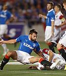 Darren McGregor getting stuck in