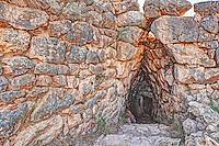 The Underground Cistern (1.250 B.C.) Mycenae, Greece
