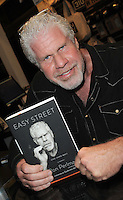 Ron Perlman signs memoir Easy Street (The Hard Way)