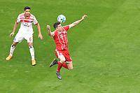 10.03.2018,  Football 1.Liga 2017/2018, 26. match day,  FC Bayern Muenchen - Hamburger SV, in Allianz Arena Muenchen. v.li: Douglas Santos (Hamburger SV)  -  Robert Lewandowski (FC Bayern Muenchen). *** Local Caption *** © pixathlon<br /> <br /> +++ NED out !!! +++<br /> Contact: +49-40-22 63 02 60 , info@pixathlon.de