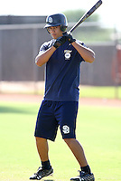 Luis Domoromo / San Diego Padres 2008 Instructional League..Photo by:  Bill Mitchell/Four Seam Images