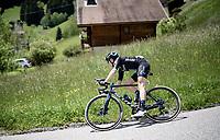 Felix Gall (AUT/DSM)<br /> <br /> 73rd Critérium du Dauphiné 2021 (2.UWT)<br /> Stage 8 (Final) from La Léchère-Les-Bains to Les Gets (147km)<br /> <br /> ©kramon