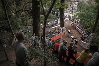 race leaders downhillin'<br /> <br /> Brico-cross Geraardsbergen 2016<br /> U23 + Elite Mens race