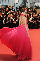 Freida Pinto .Cannes 15/5/2013.Festival del Cinema The Great Gatsby - Il grande Gatsby .Foto Panoramic / Insidefoto .ITALY ONLY