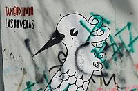 URUGUAY Montevideo street graffiti