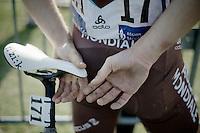 111th Paris-Roubaix 2013..Steve Chainel (FRA).