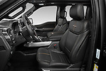 Front seat view of 2021 Ford F-150 Platinum 4 Door Pick-up Front Seat  car photos