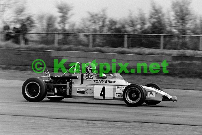 Tony Brise, 1972 BRDC International Trophy Meeting Silverstone.