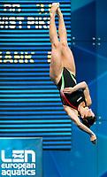 BERTOCCHI Elena ITA<br /> 3m Springboard Women Preliminary <br /> LEN European Diving Championships 2017<br /> Sport Center LIKO, Kiev UKR<br /> Jun 12 - 18, 2017<br /> Day04 15-06-2017<br /> Photo © Giorgio Scala/Deepbluemedia/Insidefoto
