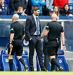 05.05.2019 Rangers v Hibs: Steven Gerrard at full time