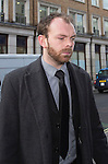 "Pic shows: Simon Pegg<br /> <br /> <br /> Funeral of Roger Lloyd-Pack - ""Trigger"" from Only Fools and Horses.<br /> <br /> Mourners arriving at the service at Actors Church in Covent Garden -<br /> <br /> <br /> <br /> <br /> Pic by Gavin Rodgers/Pixel 8000 Ltd"