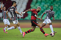 Rio de Janeiro (RJ), 15/05/2021 - FLUMINENSE-FLAMENGO - Gabriel Barbosa (c), do Flamengo. Partida entre Fluminense e Flamengo, válida pela final do Campeonato Carioca 2021, realizada no Estádio Jornalista Mário Filho (Maracanã), neste sábado (15).