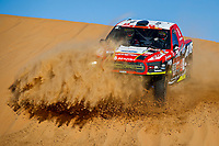 306 Prokop Martin (cze), Chytka Viktor (cze), Ford, MP-Sports, Auto, Car, action during Stage 11 of the Dakar 2020 between Shubaytah and Haradh, 744 km - SS 379 km, in Saudi Arabia, on January 16, 2020  <br /> Rally Dakar <br /> 16/01/2020 <br /> Photo DPPI / Panoramic / Insidefoto