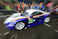#91 PORSCHE GT TEAM (DEU) PORSCHE 911 RSR GTE PRO RICHARD LIETZ (AUT) GIANMARIA BRUNI (ITA) FREDERIC MAKOWIECKI (FRA)