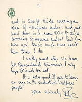 Philip's letter accusing New Zealanders of treating Maoris like 'museum pieces and domestic pets'.