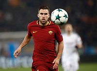 Football Soccer: UEFA Champions League AS Roma vs Qarabag FK Stadio Olimpico Rome, Italy, December 5, 2017. <br /> Roma's Kevin Strootman in action during the Uefa Champions League football soccer match between AS Roma and Qarabag FK at at Rome's Olympic stadium, December 05, 2017.<br /> UPDATE IMAGES PRESS/Isabella Bonotto
