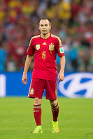 Andres Iniesta of Spain