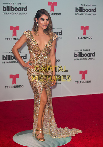 CORAL GABLES, FL - APRIL 27:  Maria Leon attends the Billboard Latin Music Awards at Watsco Center in Coral Gables, Florida on April 27, 2017. <br /> CAP/MPI/AG<br /> ©AG/MPI/Capital Pictures