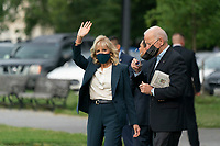 United States President Joe Biden and first lady Dr. Jill Biden depart the White House, headed to Europe from the Ellipse in Washington, DC, June 9, 2021  Credit: Chris Kleponis / Pool via CNP /MediaPunch