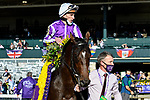 November 7, 2020 : Order of Australia, ridden by Pierre-Charles Boudot, wins the FanDuel Mile presented by PDJF on Breeders' Cup Championship Saturday at Keeneland Race Course in Lexington, Kentucky on November 7, 2020. Jessica Morgan/Breeders' Cup/Eclipse Sportswire/CSM