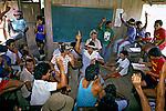 Assembleia de seringueiros, Seringal da Cachoeira. Acre. 1994. Acre. Foto de Ricardo Azoury.