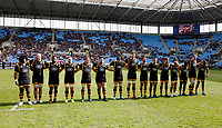 Photo: Richard Lane/Richard Lane Photography. Wasps v Worcester Warriors. Aviva Premiership. 26/03/2017. Wasps Minute's Silence to remember the victims of the Westminster Terrorist Attack.