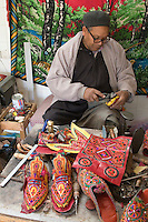Ghadames, Libya - Shoemaker at Work