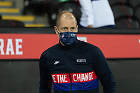 SWANSEA, WALES - NOVEMBER 12: Head coach Gregg Berhalter of the United States during a game between Wales and USMNT at Liberty Stadium on November 12, 2020 in Swansea, Wales.