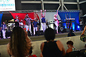 MIRAMAR, FL - JULY 04: (L-R) Ramon Alvarez, Boris Monterecy, Ailyn Dallera and Eylen Remon of Timbalive perform onstage during the 4th Of July Independence Day Concert And Fireworks Display at Miramar Regional Park Amphitheater on July 4, 2021 in Miramar, Florida.  ( Photo by Johnny Louis / jlnphotography.com )