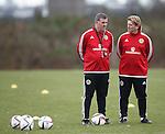 Mark McGhee and Stuart McCall