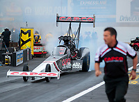 Sep 13, 2019; Mohnton, PA, USA; NHRA top fuel driver Billy Torrence during qualifying for the Keystone Nationals at Maple Grove Raceway. Mandatory Credit: Mark J. Rebilas-USA TODAY Sports
