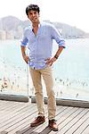 Spanish actor Xavi Melero attends the photocall of presentation of the film 'El Cover' at Edificio Torrejo in Benidorm. July 23, 2021. (ALTERPHOTOS/Acero)