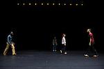 TIGER TIGER BURNING BRIGHT..Conception, chorégraphie - Frank Micheletti..Danseurs: - Viktoria Andersson, Livia Balazova, Idio Chichava, Peter Juhasz, Ikue Nakagawa, Csaba Varga..Musique mixée par Frank Micheletti..Création lumières - Ivan Mathis..Costumière - Alexandra Bertaut..Compagnie : Kubilai Khan Investigation..Le 22/03/2012..Lieu : Espace Germinal..Ville : FOSSES..© Laurent Paillier / photosdedanse.com..All rights reserved